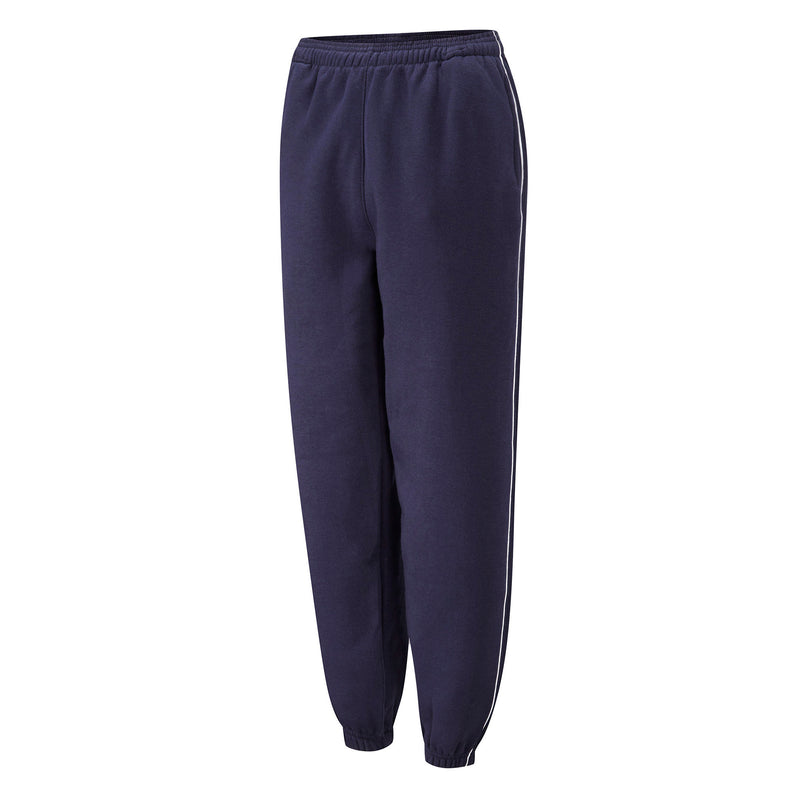 Navy/White Fleece Jog Trouser