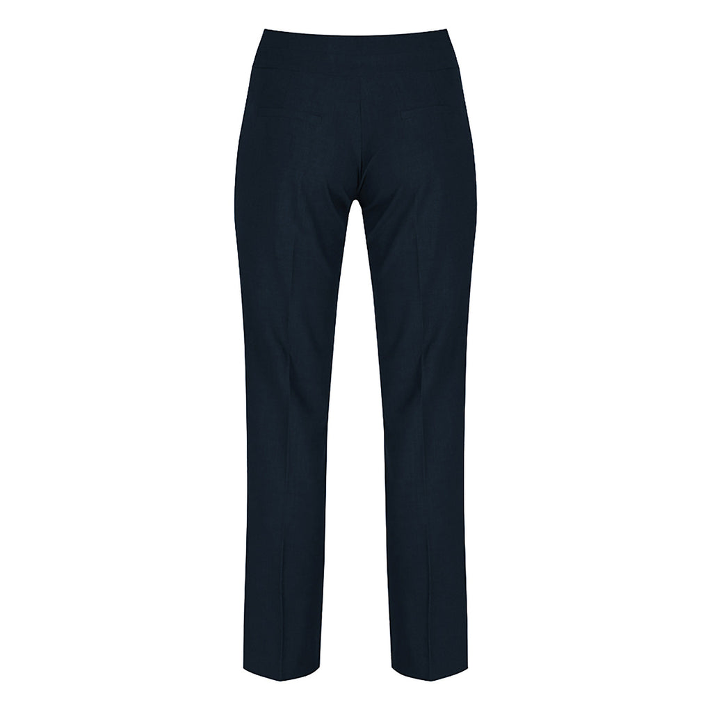 Navy Senior Girls Bootcut Trousers