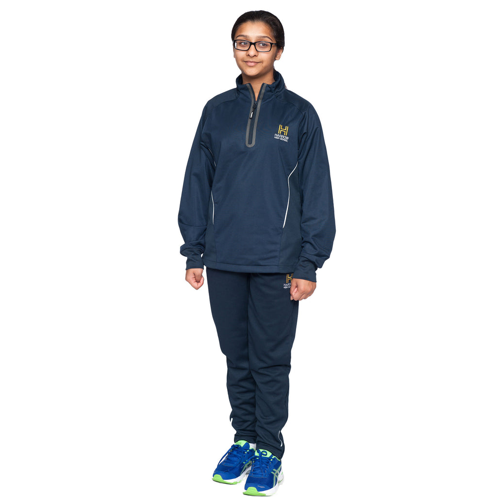 Harrow High 1/4 Zip Tracksuit Top