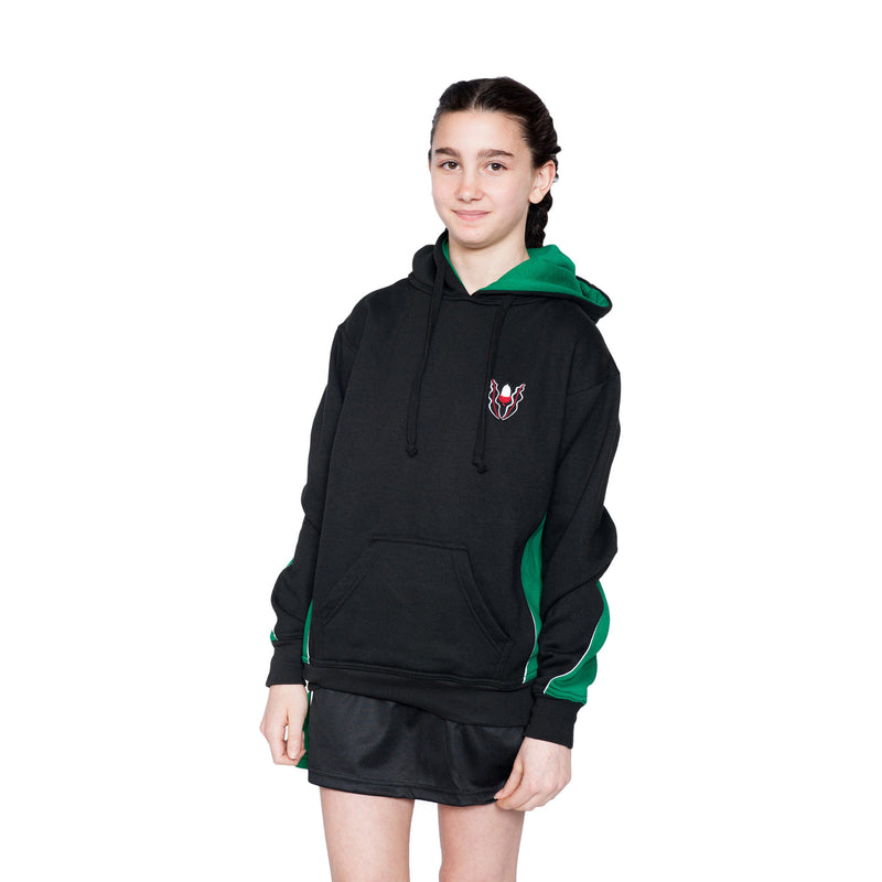 Highlands Panelled Hooded Top