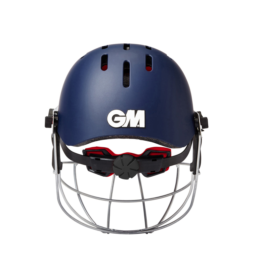 Navy Purist Geo Cricket Helmet