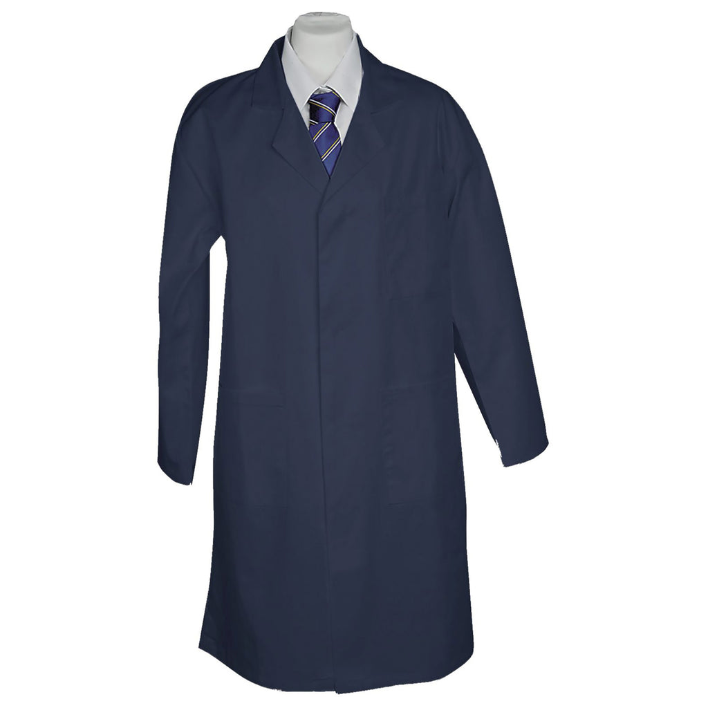 Navy Heavyweight Lab Coat