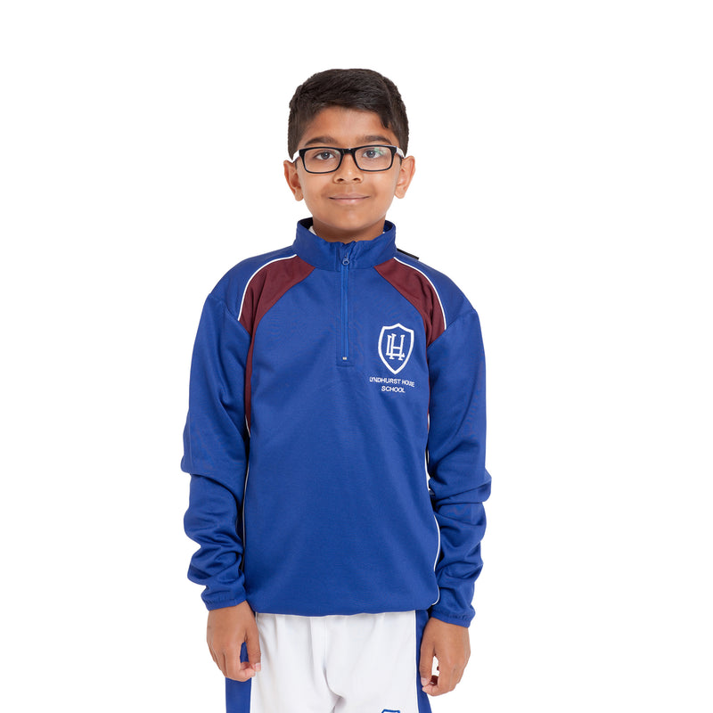 Lyndhurst School 1/4 Zip Top