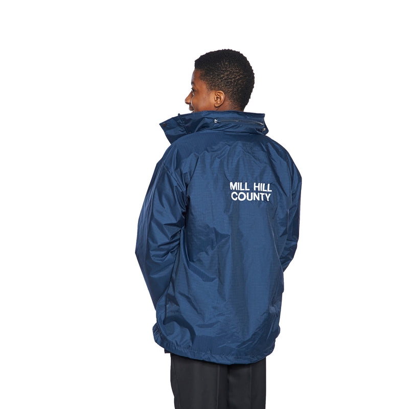 Mill Hill County High School Rain Jacket