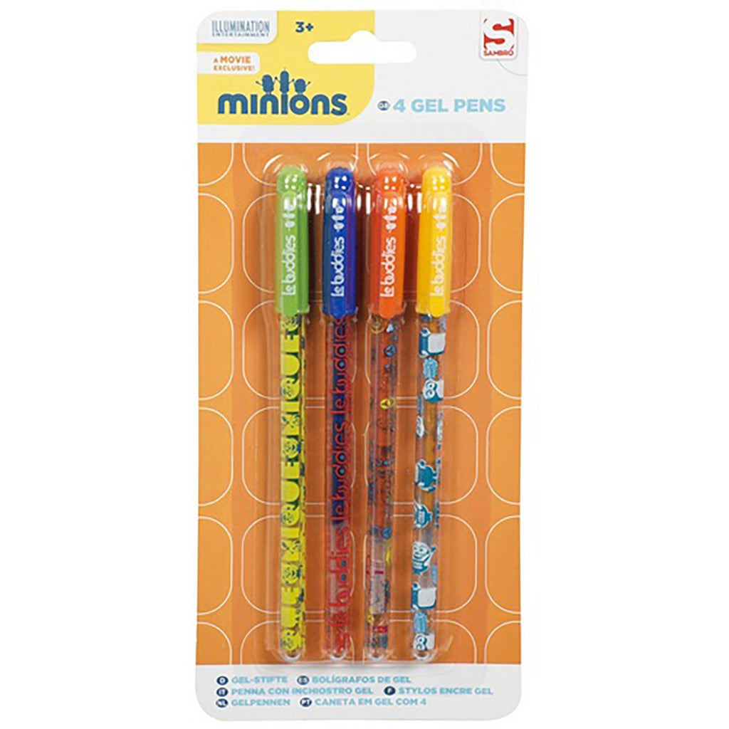 Minions Gel Pen Set