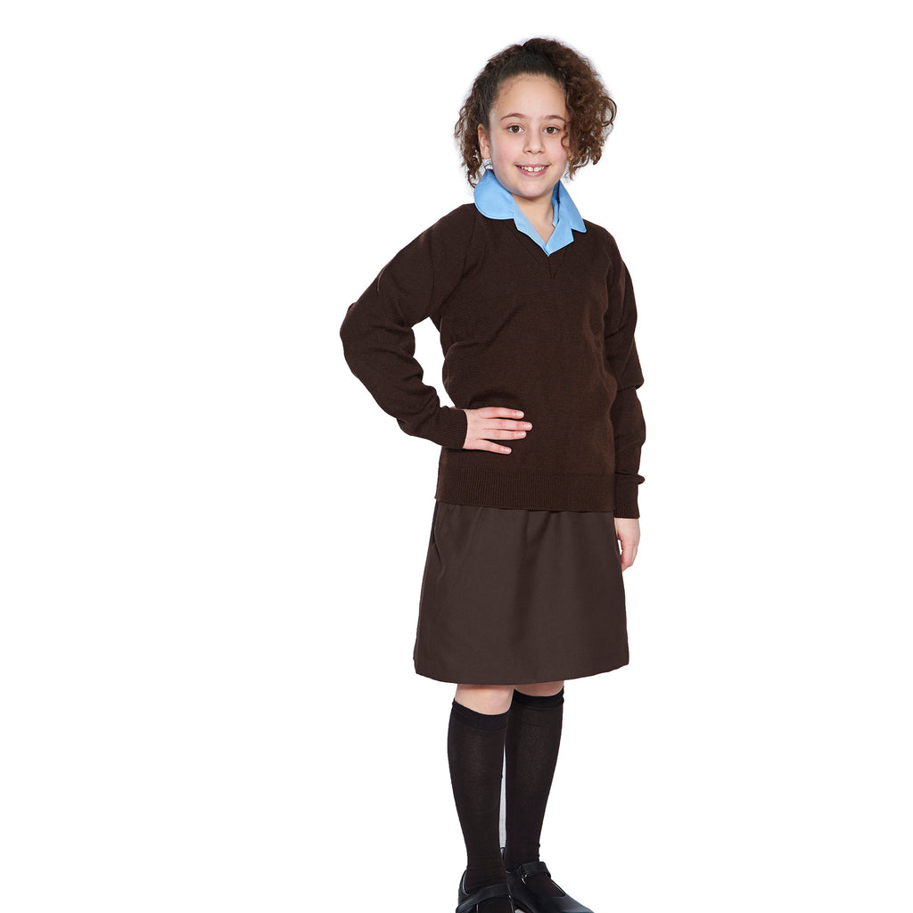 Brown Straight Skirt Year 10+