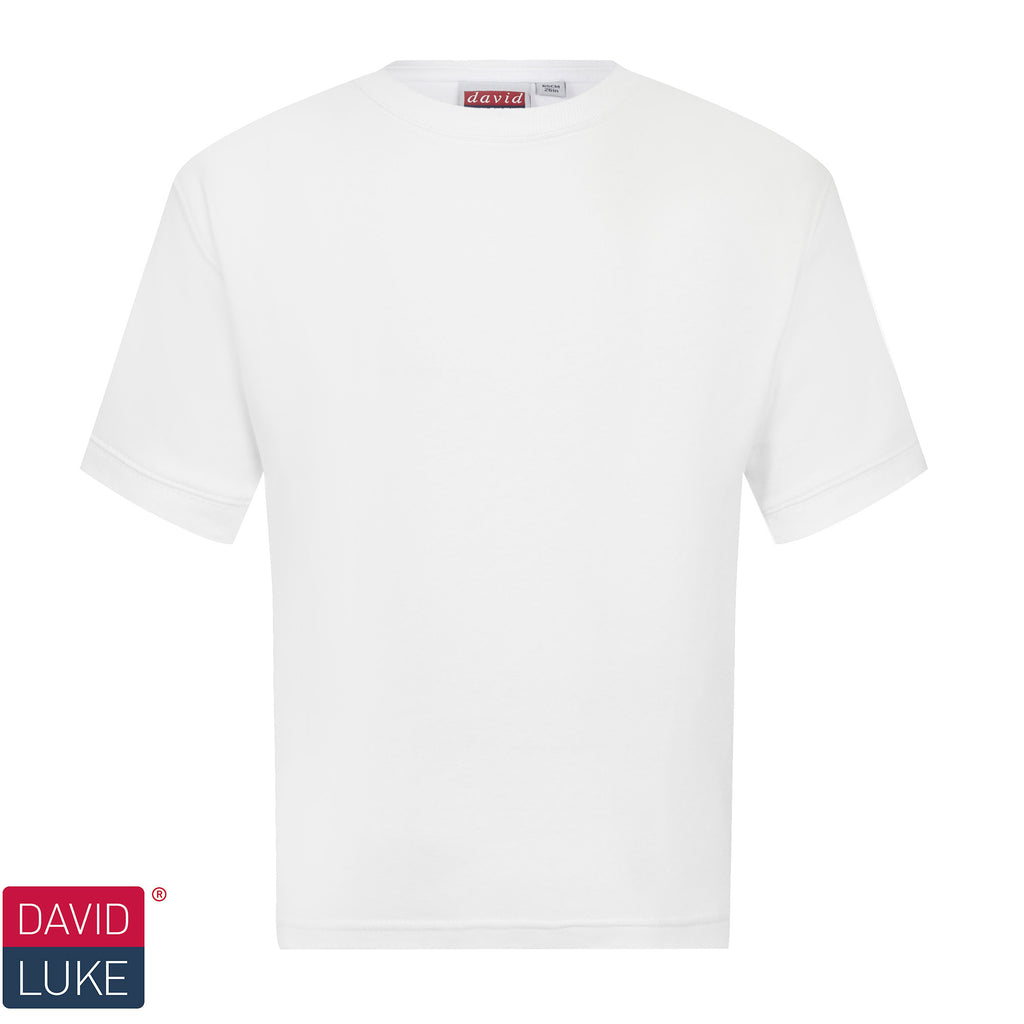 Plain White Tshirt with Personalisation
