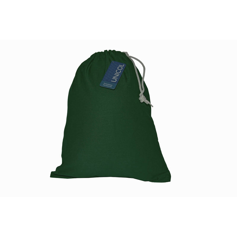 Large Bottle Green Shoe Bag with Personalisation