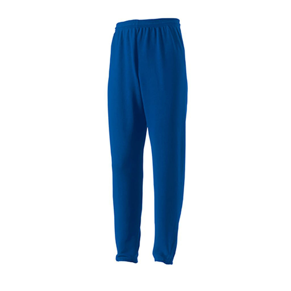 Plain Royal Jerzees Jog Bottoms