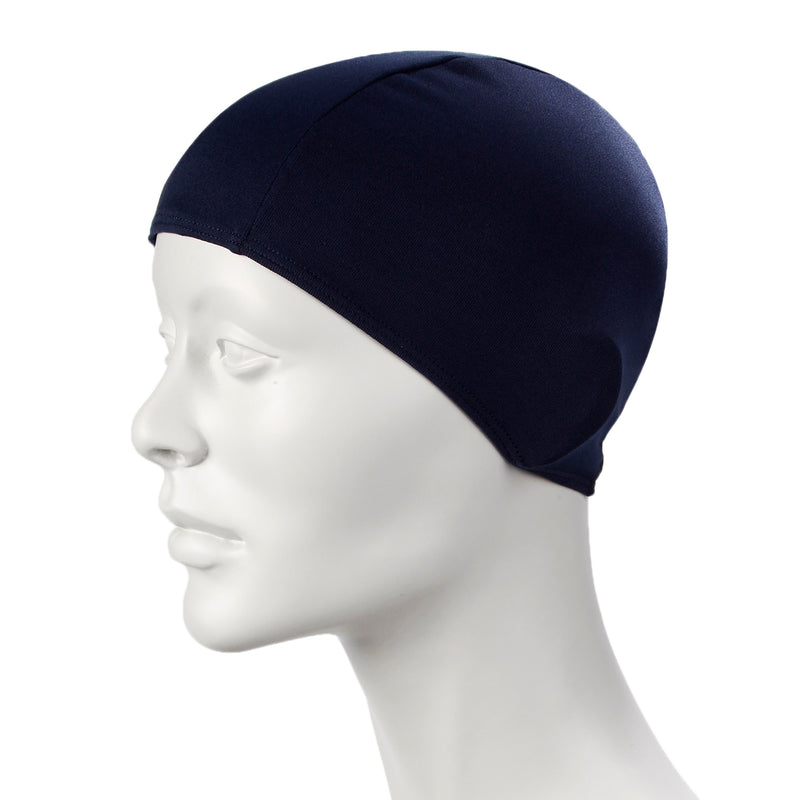 Navy Speedo Polyester Caps