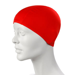 Red Speedo Polyester Caps