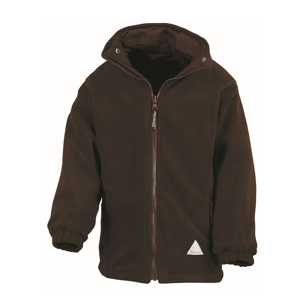 Plain Brown Result Kids Storm Stuff Reversible Jacket