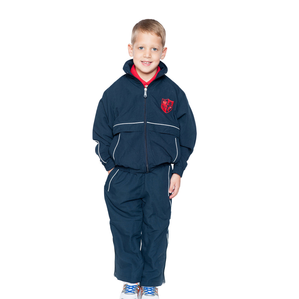 Bellevue Trust Navy Tracksuit Bottoms