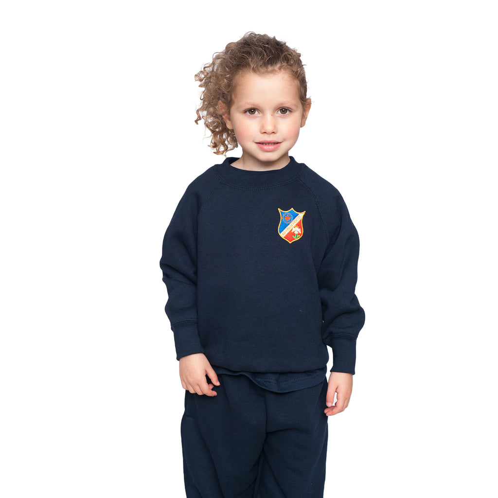 Saint Christina's Navy Sweatshirt