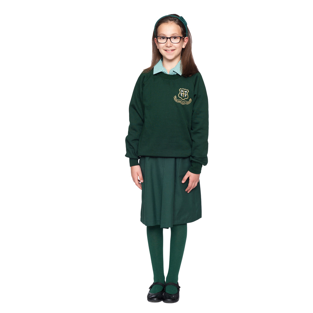 St Helen's School Bottle Green Sweatshirt