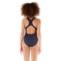 Navy Speedo Girls' Endurance Medalist Swimsuit