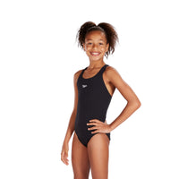 Black Speedo Girls' Endurance Medalist Swimsuit