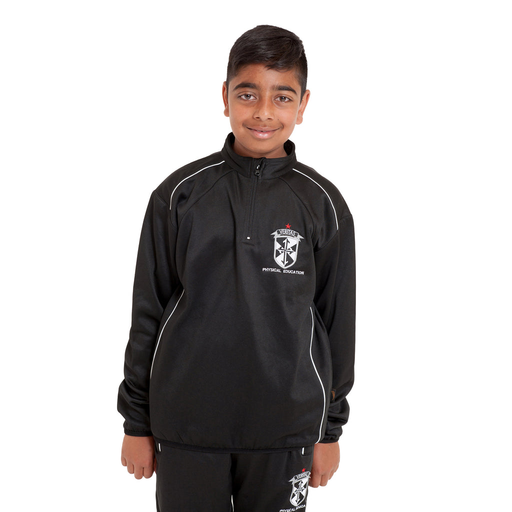 St. James' Catholic High School 1/4 Zip Training Top