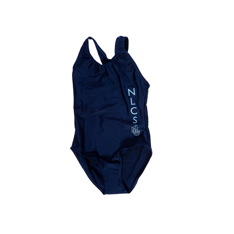 NLCS Girls Navy Swimsuit