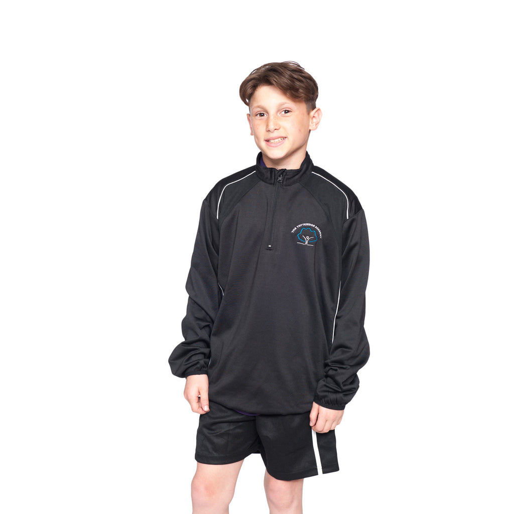 The Totteridge Academy 1/4 Zip Training Top