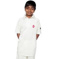 The Hall Short Sleeve Cricket Shirts