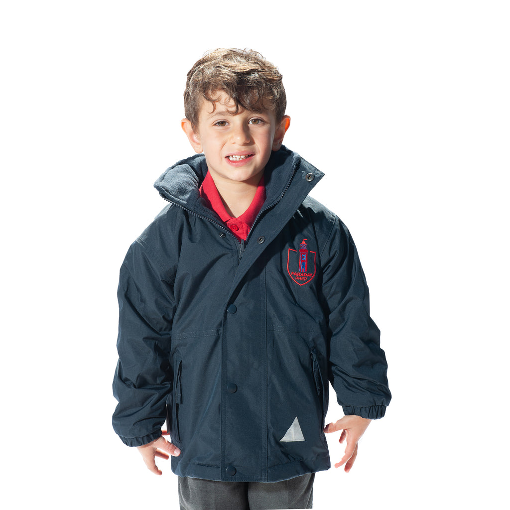 Faraday Prep School Result Kids Storm Stuff Reversible Jacket