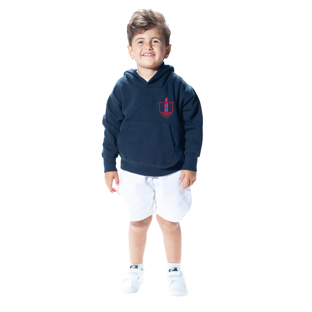 Faraday Prep School Hooded Top