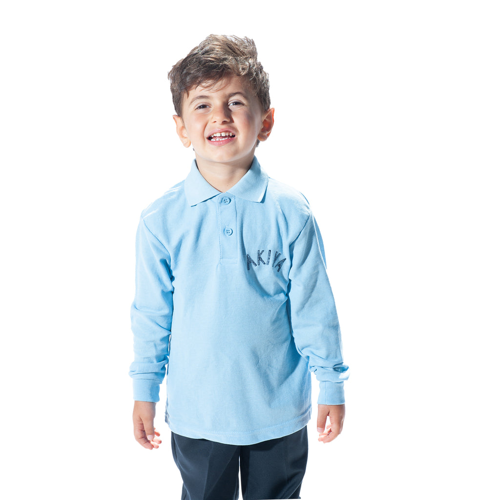 Akiva Long Sleeve Polo Shirt