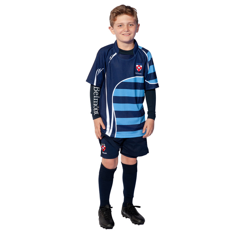 Belmont S/S Sublimated Rugby Shirt