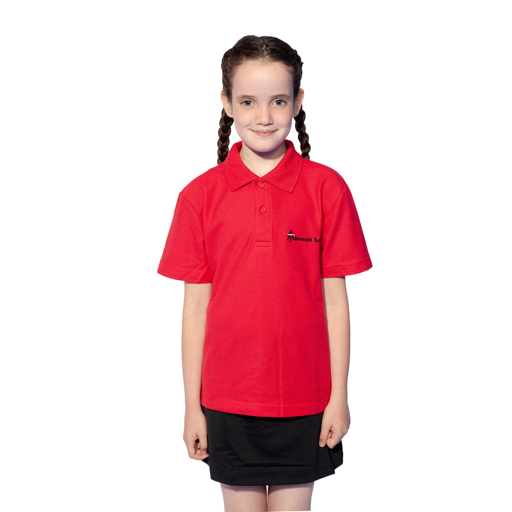 Abercorn Red Polo Shirt