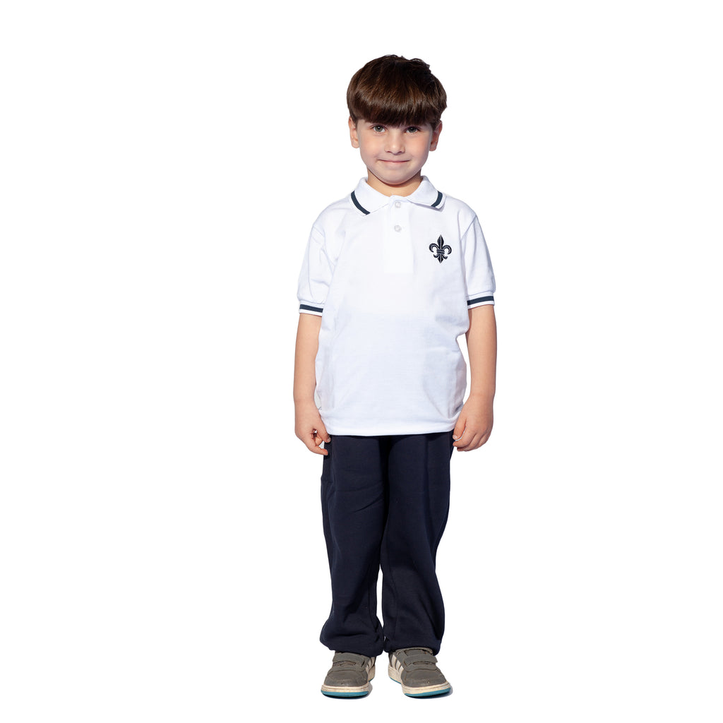 Hereward House trimmed PE Polo Shirt