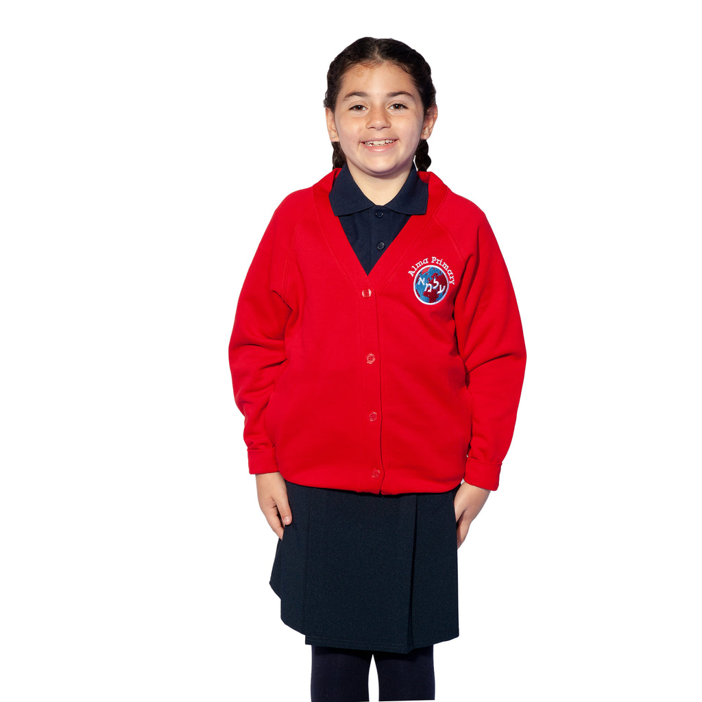Alma Primary, Whetstone, Sweat Cardigan