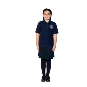 Alma Primary, Whetstone, Short Sleeve Polo Shirt