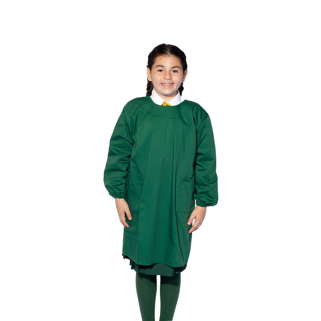 Bottle Green Paint Smock