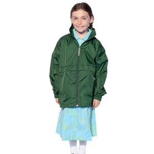 Bottle Green Rain Coat