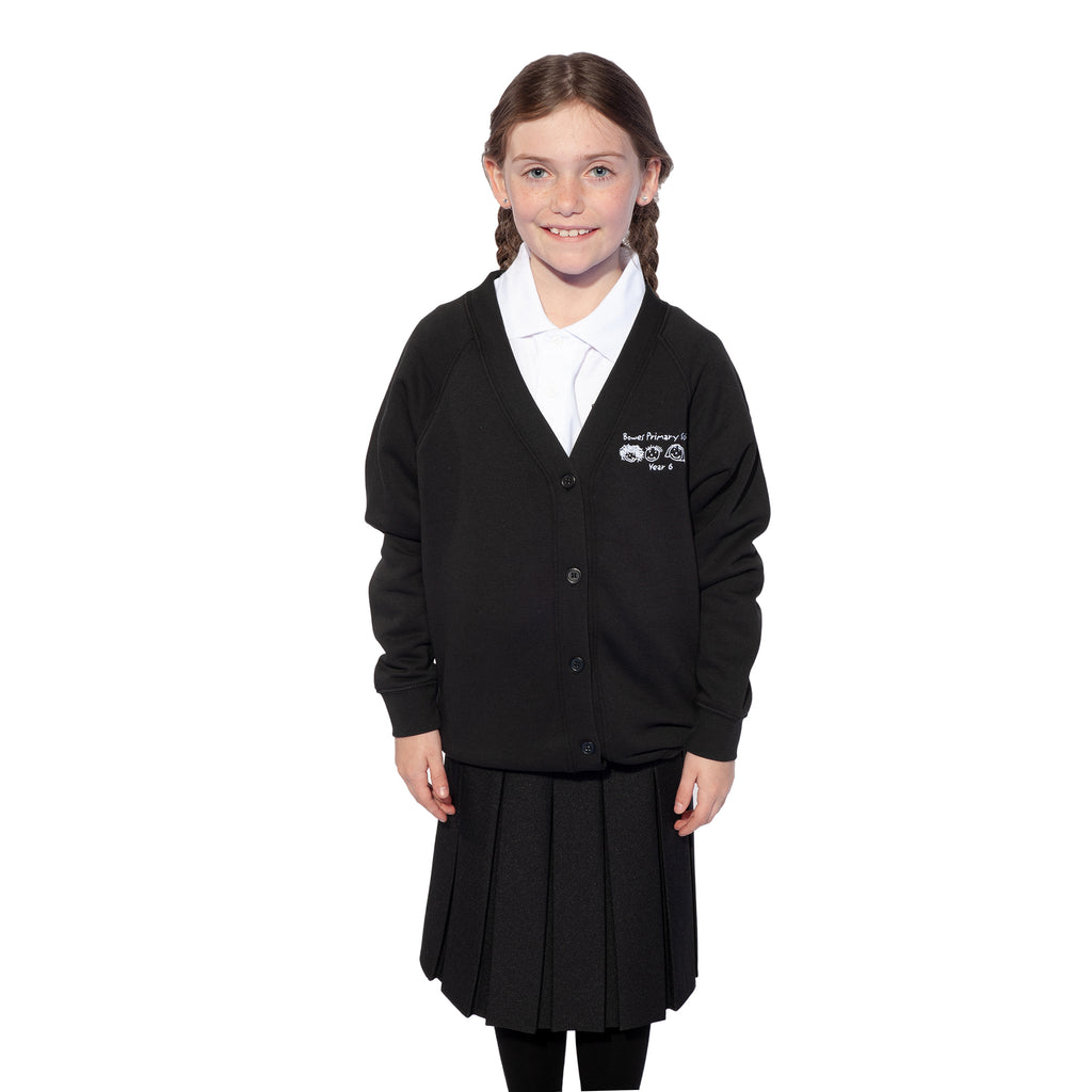 Bowes Southgate Year 6 Sweat Cardigan Black