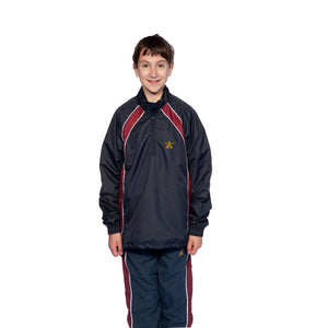 St Paul's Cathedral School 1/4 Zip Clubhouse Jacket