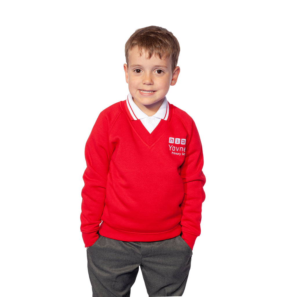 Yavneh Primary School V- Neck Sweatshirt