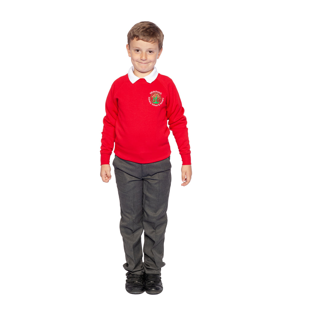 Whitchurch Primary Red Sweatshirt