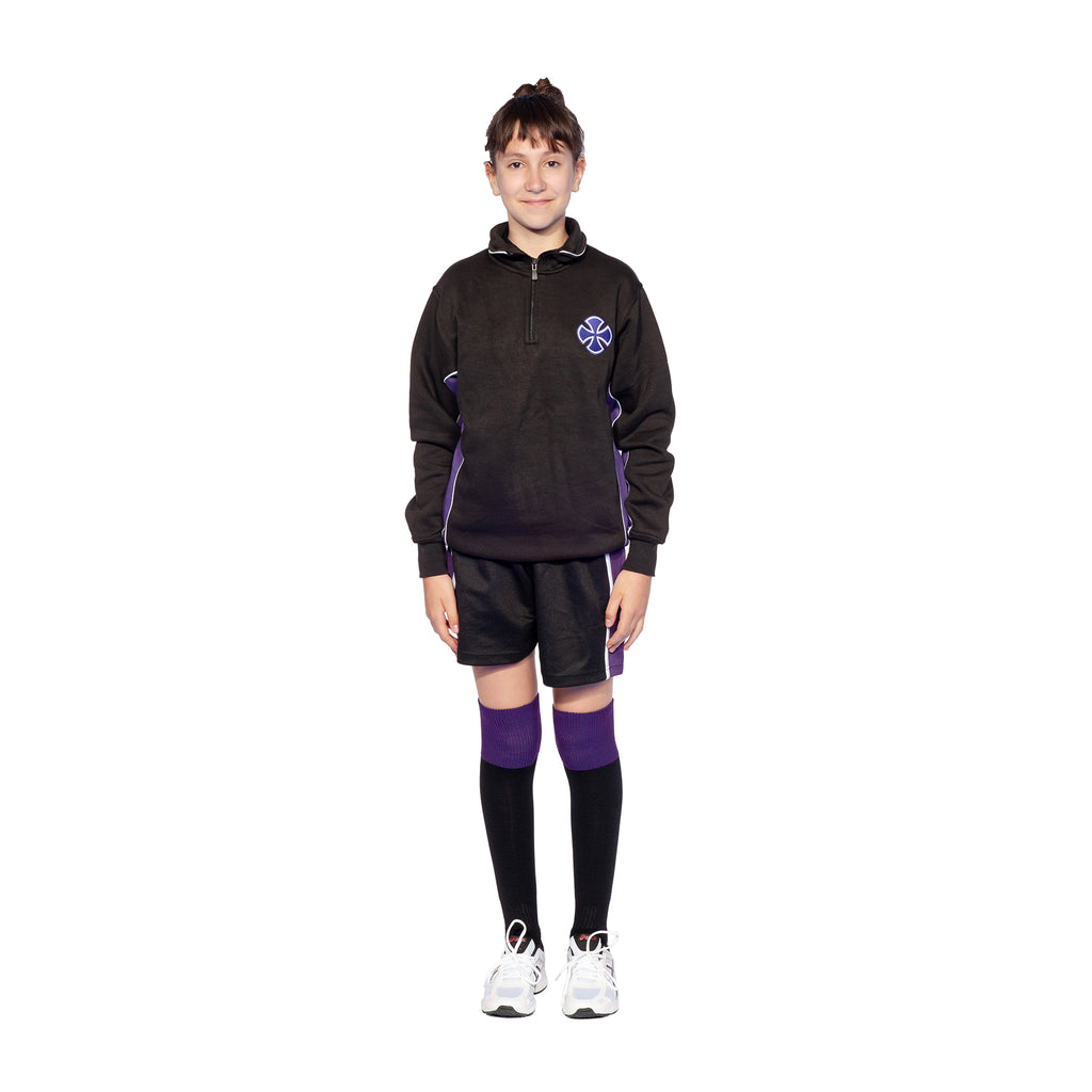 All Saints Catholic College 1/4 Zip Sweatshirt