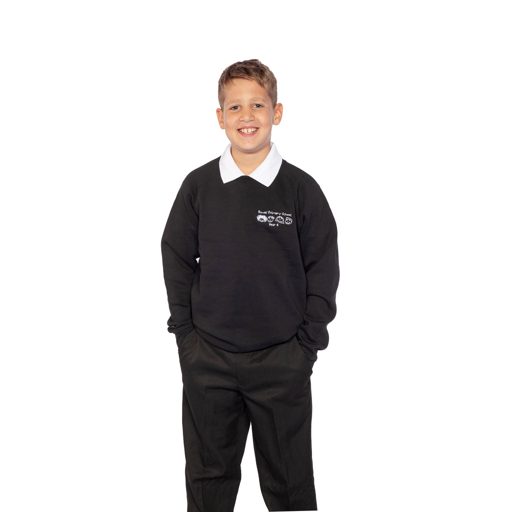 Bowes Year 6 Black Sweatshirt
