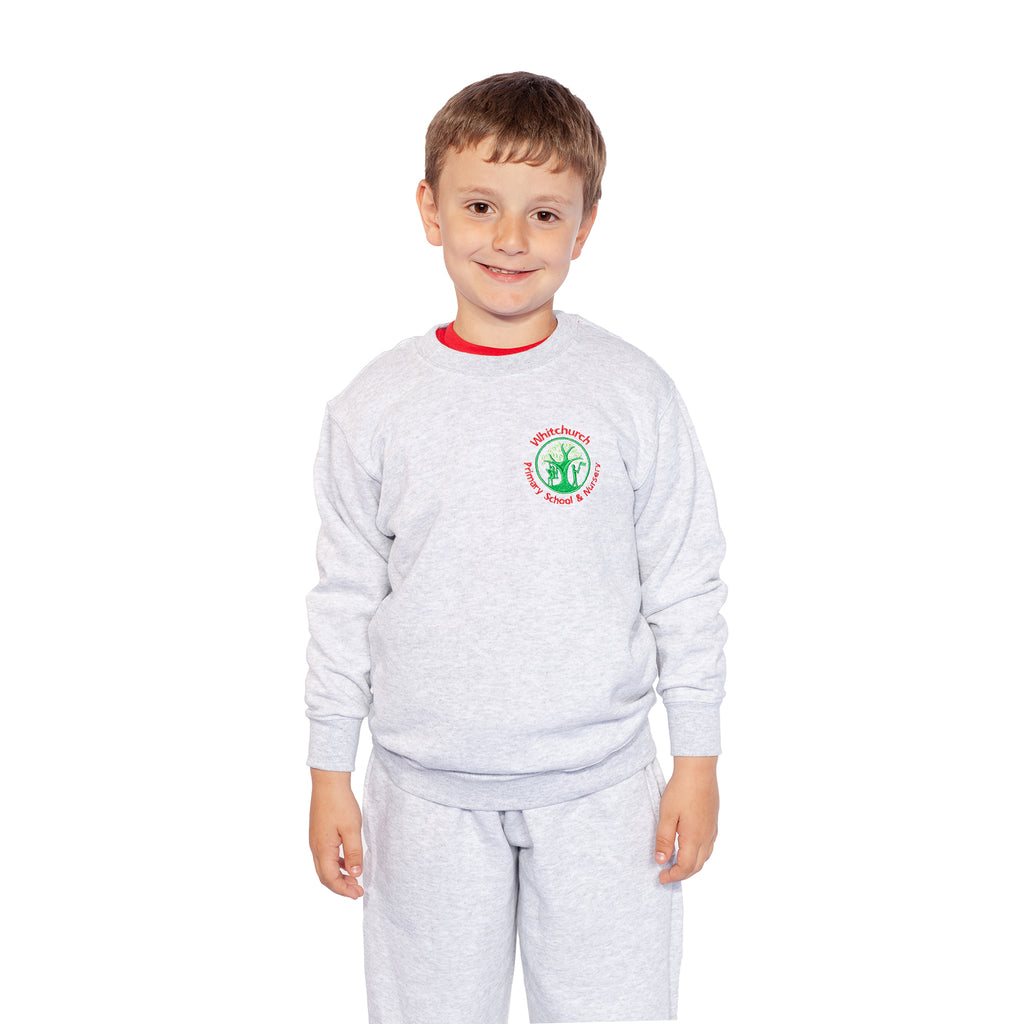 Whitchurch Primary Grey PE Jog Bottoms