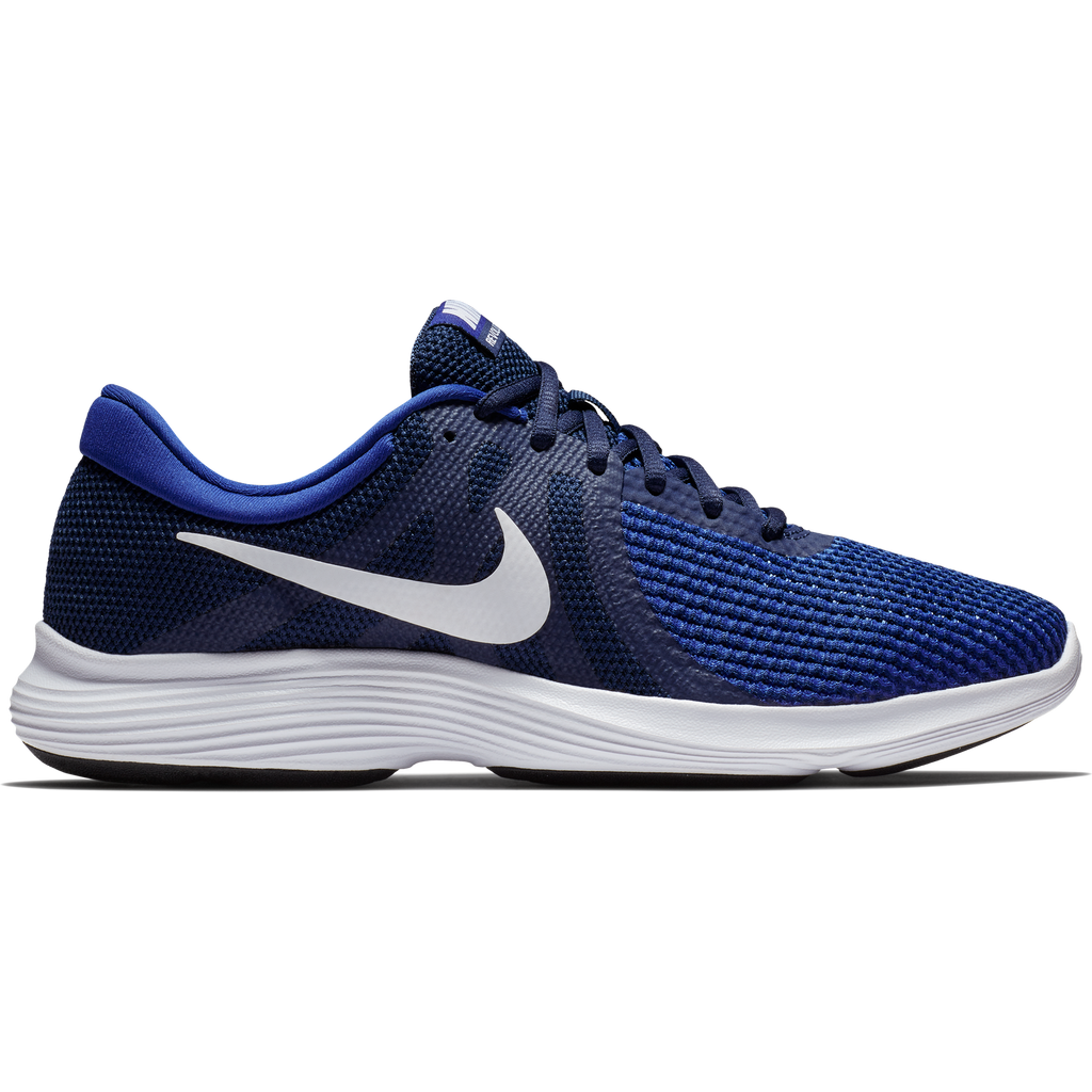 Nike Revolution 4 Navy/White-Deep Royal Blue