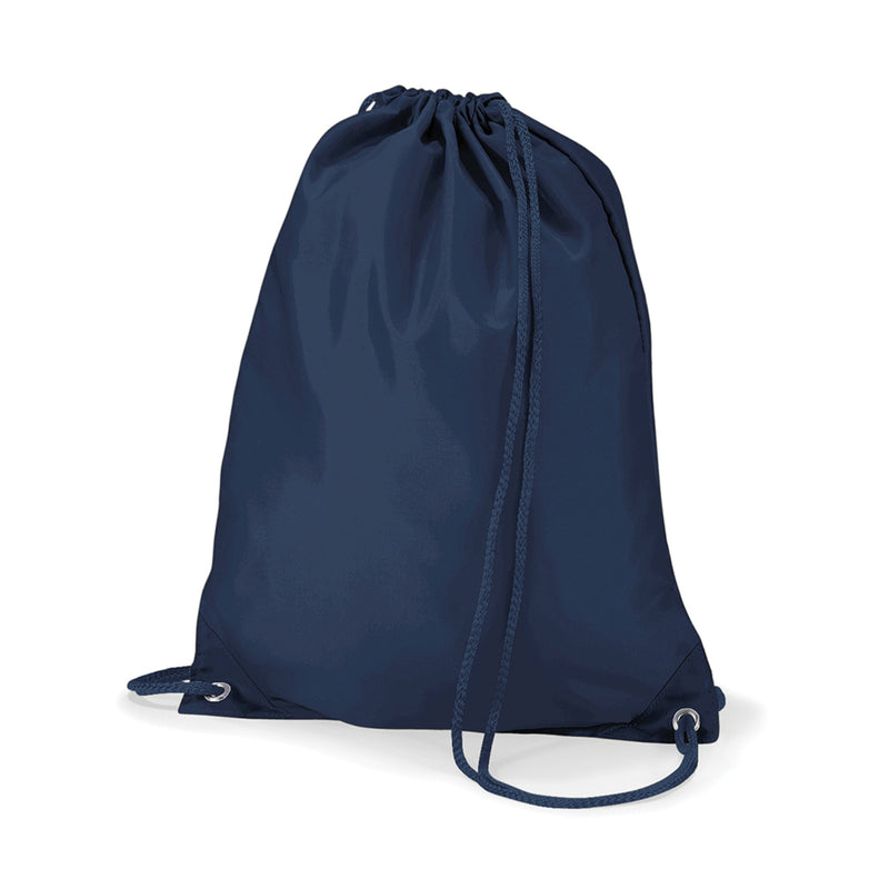 Plain Navy Gym Sack