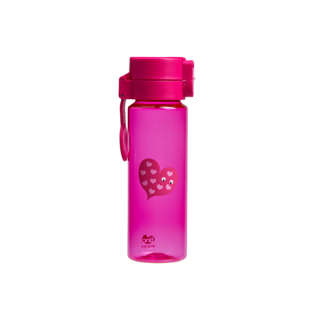 Mallo Flip and Clip No-Leaks Water Bottle - Pink