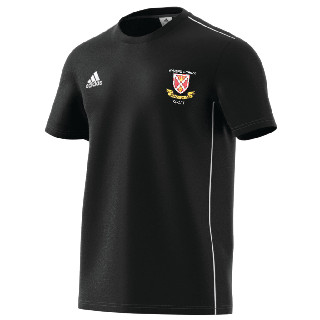 Vyners Adidas Sixth Form Sport Cotton Tee