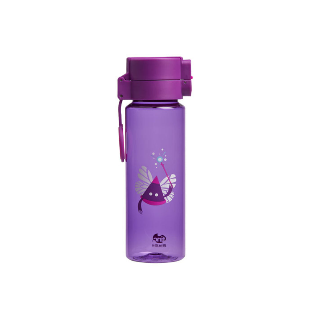 Ooloo Tinc Flip and Clip No-Leaks Water Bottle - Purple