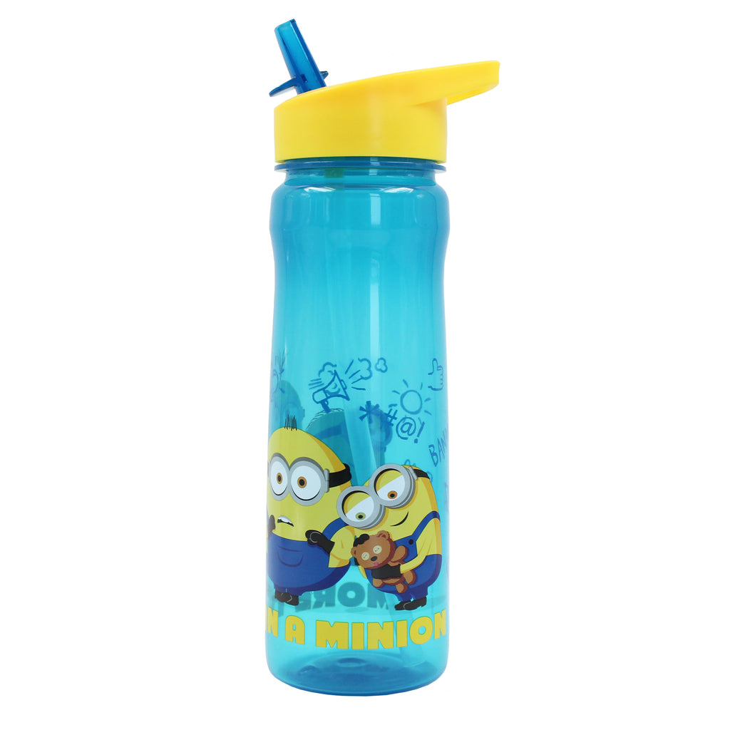 Minions Rectangular Lunch Bag and 600ml Bottle