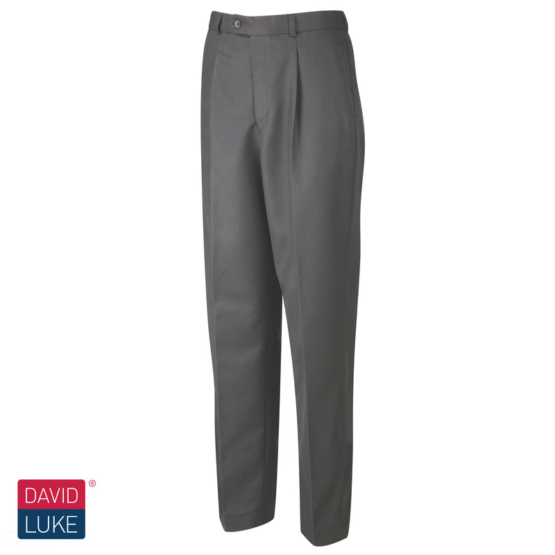Grey Pleated Trousers DL948