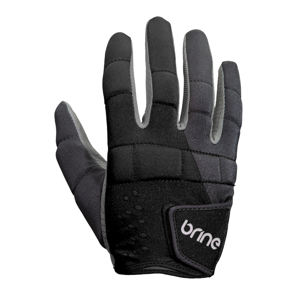 Brine Dynasty Lacrosse Gloves Black